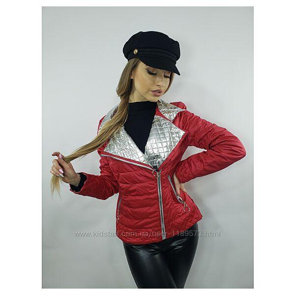 Куртка жакет демисезон  ассиметричная застежку размер 42,44, 46,48,50, 52