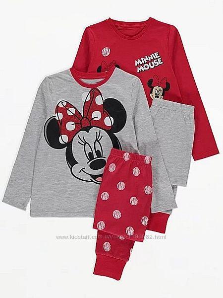 Пижама детская Минни Маус для девочки george 201209