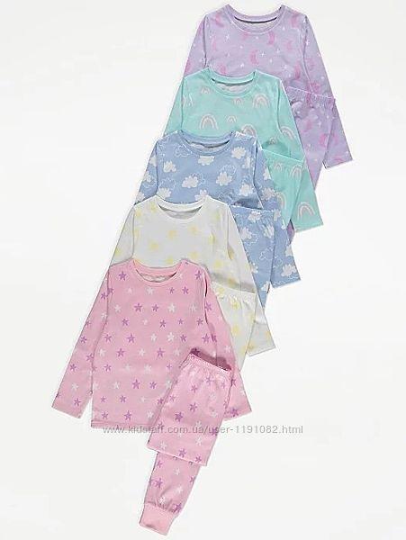 Детская пижама для девочки george 210301
