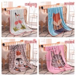 Двойные одеяла, простынки и полотенца для малышей