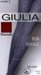 Теплые колготки Bon Voyage
