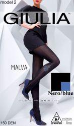 Женские тёплые колготки MALVA
