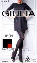 Колготки с цветным узором Giulia  NAOMI