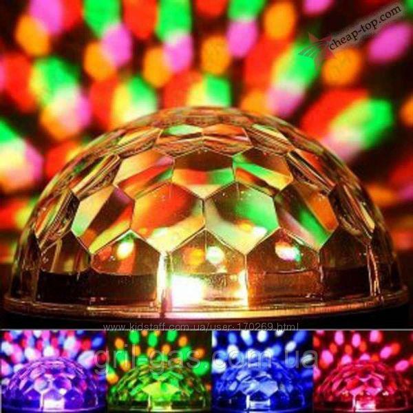 Диско-шар LED Magic Ball Light с Bluetooth -Новинка
