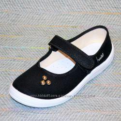 Текстильные туфли на девочку р.  34-21, 5 см