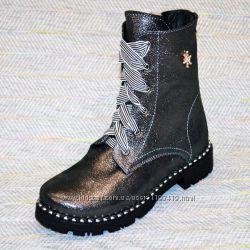 Зимние ботинки на девочку, Украина р 31-20
