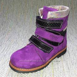 Зимние ортопедические ботинки р 26-27