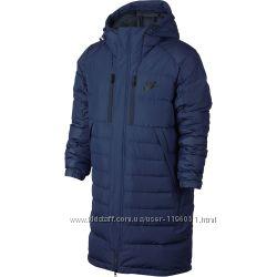 Большой размер мужская длинная куртка зимняя, парка, пуховик силикон