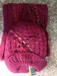 Комплект шапка  и шарф 2 набора