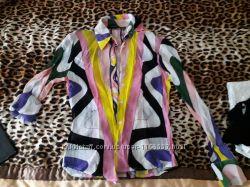 блуза премиум бренд вискоза  Италия оригинал Emilio Pucci