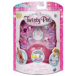 Набор Twisty Petz 4 браслета-минипитомца Единороги и Панды от Spin Master.
