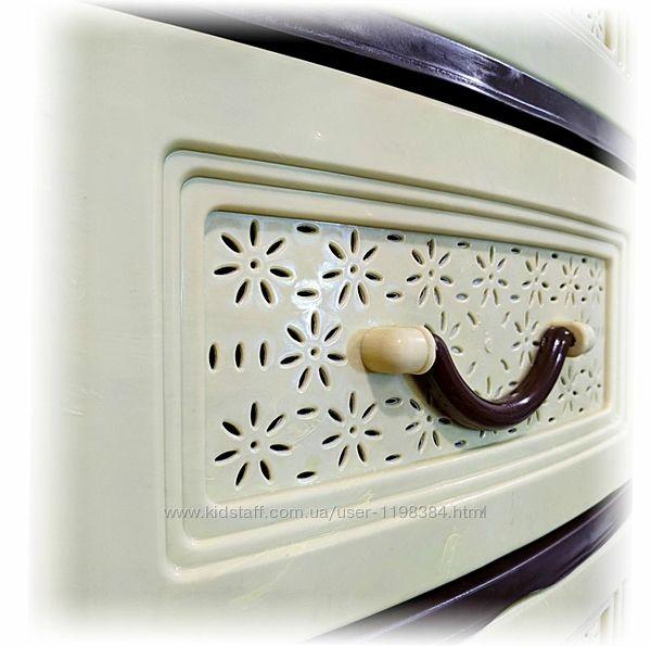 Органайзер, комод, шкафчик на 4 яруса для вещей