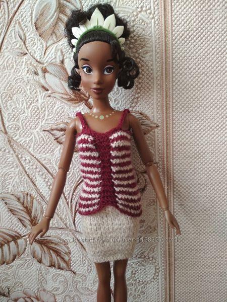 Вязаный комплект для Барби Barbie и принцесс Диснея Disney