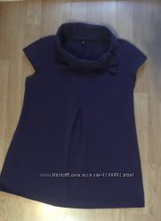Стильная туника, кофта для беременных, размер 46, М-Л