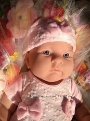 Кукла лялька пупс БеренджерBerenguer 46 см анатомическая виниловая