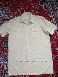 красивая рубашка 46-48р котон