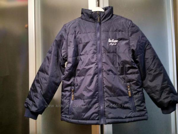 Классная деми куртка на 158 см 13 лет и 128 см 7-8 лет lee cooper