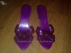43077eaa Игрушечные туфли шлепки туфельки тапочки на каблуке, 40 грн. Детские ...
