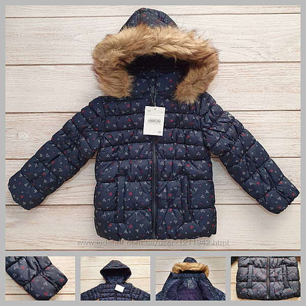 Зимняя куртка 104, 110 р Palomino от C&A, Германия