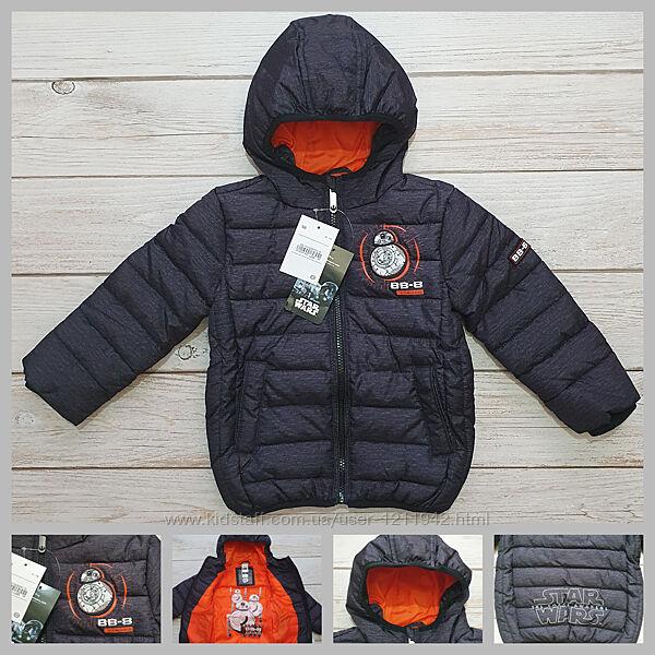Куртка еврозима 98, 116 Star Wars для мальчика C&A Palomino Германия