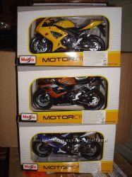 Мотоциклы масштабные модели Maisto 112