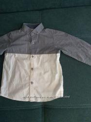 Рубашка Next на модника 98 см новая