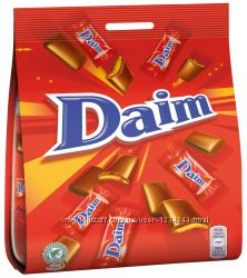 Marabou Daim Mini шоколадные конфеты хрустящий миндаль 200 грамм, Швеция