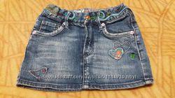 Юбка джинсовая 2-3года. H&M