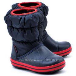 Сапожки крокс crocs puff boot kids, С8-J3