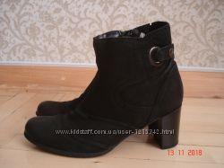 Ботинки ботильоны pavers  39, 25 см натуральная кожа