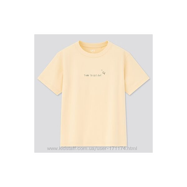 Стильная футболочка Uniqlo
