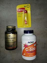 Carmex, Кармекс бальзам для губ, Витамин С, персональная скидка на Айхерб