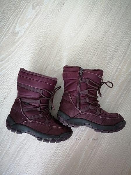 Сапоги зимние, сапожки девочке, ботинки, 28 размер, 18 см