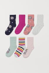 Большой выбор носков Джимбори для девочки 3-8 лет, h&m размер 22-24 наш