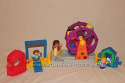 Fisher-Price Парк аттракционов, игровая площадка Little People муз