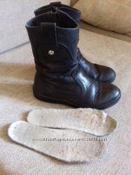 Шкіряні чобітки фірми Dalton на цегейці