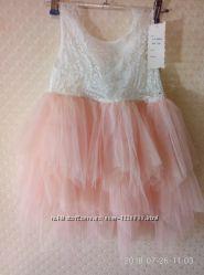 Платье на девочку 4-6лет.