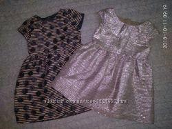 Красивые нарядные платья, 4-5 и 6-7 лет