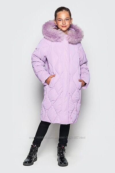 новинка зимняя куртка дебра - тм cvetkov -128-158 рр