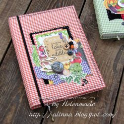 Кулинарный блокнот, кулинарная книга ручной работы. Купить