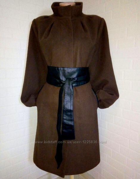 Стильное, классическое, актуальное пальто, натуральный кашемир с шерстью