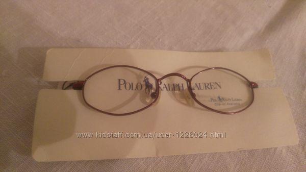 Оправа детская очки Ralph Lauren 42-19-125 метал очень лёгкая ширина 103 мм