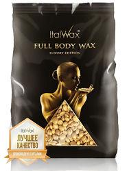 ITALWAX Воск FULL BODY в гранулах 1 кг. шпатели в подарок