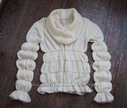 Нарядный шерстяной свитер