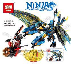 Конструктор серия Ninjago  дракон  Lepin