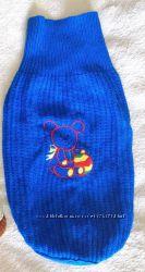 Вязаный теплый свитер кофта чулок для собаки, одежда для чихуахуа, йорка