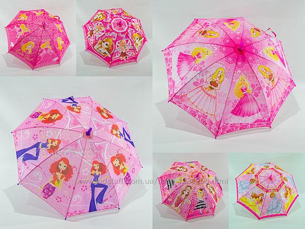 Детский зонтик для девочки на 4-9 лет GR-2