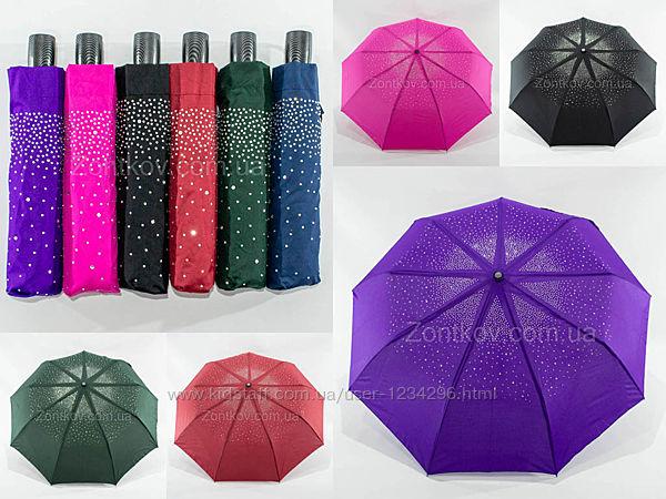 Женский зонтик полуавтомат на 9 углепластиковых спиц от фирмы Mario 775