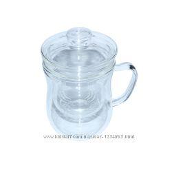 Чашка заварочная стеклянная