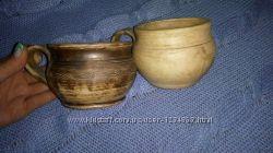 Чашка кружка глина